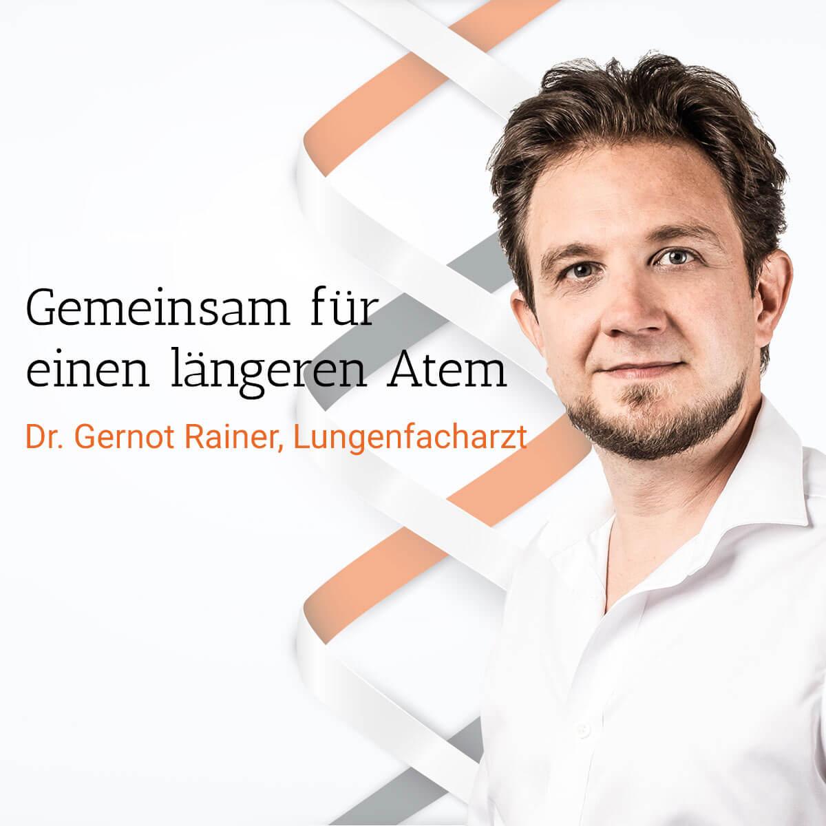 Dr. Gernot Rainer, Lungenfacharzt